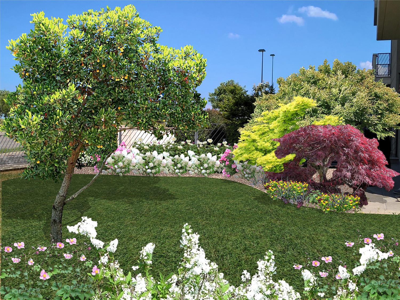 progettazione 3d giardini